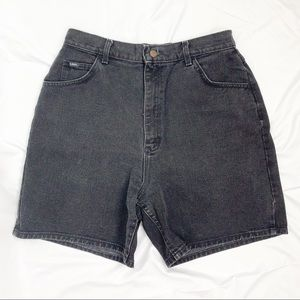 lee / high-rise shorts